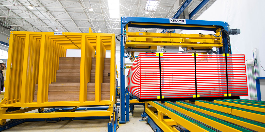 WOODEN BOARD STRAPPING & PACKAGING LINES